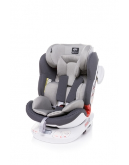 4 BABY Fotelik SPACE-FIX 0-36 LIGHT GREY