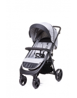 4 BABY Wózek spacerowy QUICK LIGHT GREY